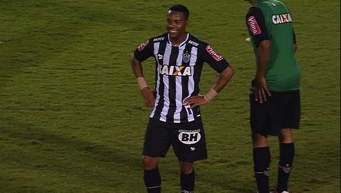 Robinho; do Atlético-MG (Foto: Reprodução/TV Globo Minas)