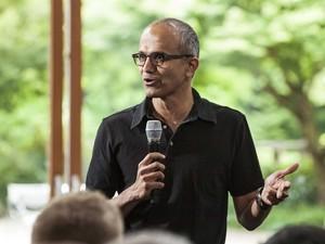 Satya Nadella, provável candidato ao cargo de CEO da Microsoft (Foto: Microsoft/Reuters)