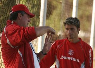 Abel Braga e Rafael Sobis  (Foto: Inter / Divulgação)