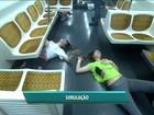 Simulação de atentado terrorista no Metrô mobiliza 300 pessoas em SP