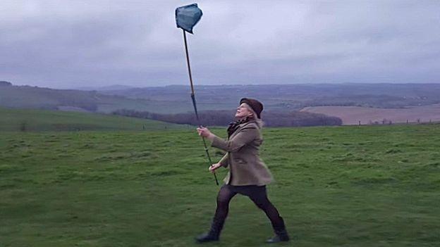 Método de captação de ar que ingleses criaram (Foto: BBC)
