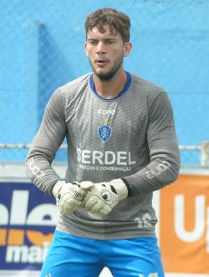 Fernando Subil, goleiro do Vitória-ES (Foto: Henrique Montovanelli/Vitória-FC)