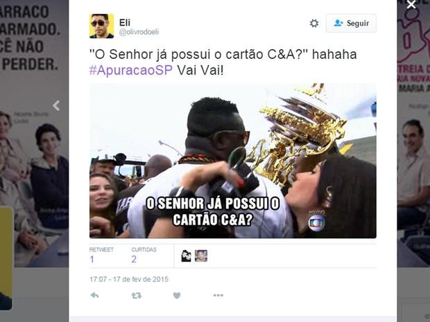 meme carnaval 17 (Foto: Reprodução/Twitter)
