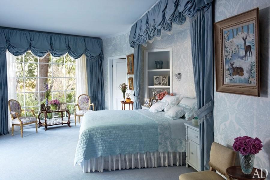 A antiga mansão de Elizabeth Taylor (Foto: Reprodução)