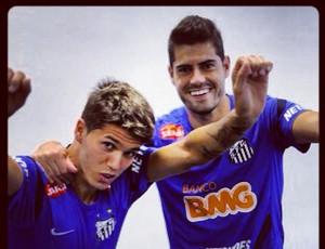 Patito Rodriguez e Miralles (Foto: Reprodução  / Instagram)
