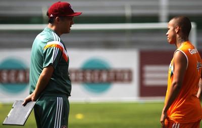 eduardo baptista, marcos junior, fluminense (Foto: Nelson Perez/Fluminense FC)