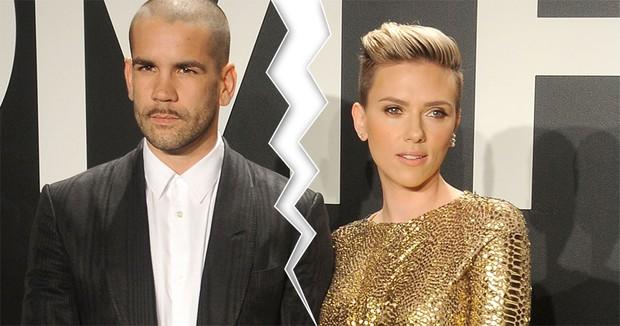Scarlett Johansson e husband Romain Dauriac estão separados (Foto: Gettyimages / Divulgação)