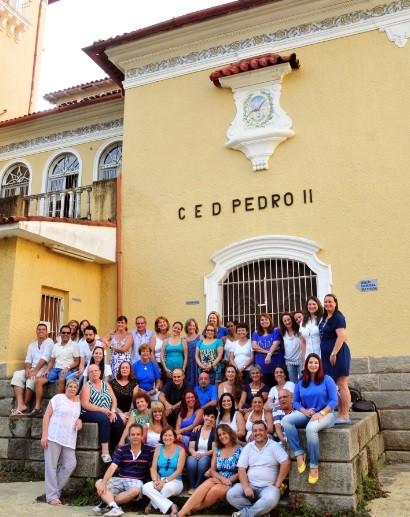 Ex-alunos do Cenip (Foto: Marco Oddone)