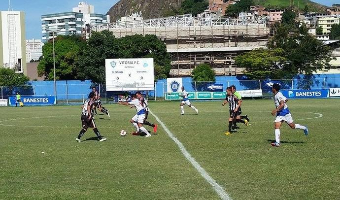 Estrela venceu o Sport-ES por 2 a 1, no Salvador Costa (Foto: Sidney Magno Novo/GloboEsporte.com)