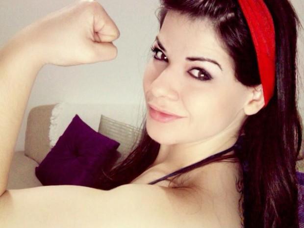Ana Maria decidiu mudar de vida: inclusive emagrecer (Foto: Ana Maria De Cesaro/Arquivo pessoal)