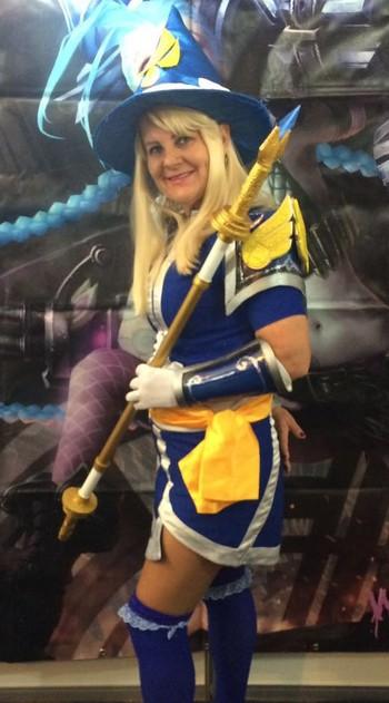 Sandra Bohm, cosplay (Foto: Arquivo pessoal / Sandra Bohm)