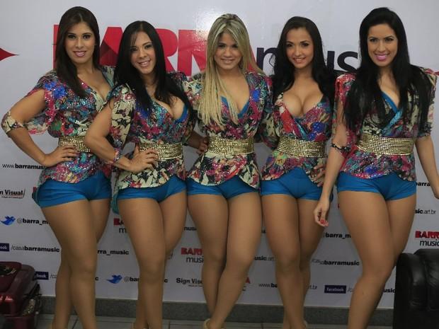 Dançarinas do Aviões do Forró no Rio (Foto: Fred Pontes/ Divulgação)