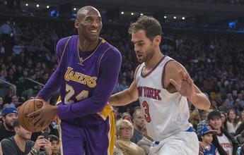Após anúncio de aposentadoria, jogos de Kobe Bryant triplicam de preço
