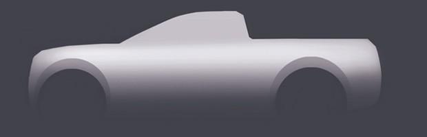 Desenho explica a carroceria de uma picape (Foto: Fernando Morita/Autoesporte)