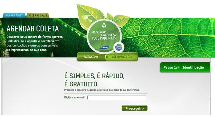 Empresas oferecem reciclagem interna ou recolhimento de cartuchos (Foto: Reprodução/Barbara Mannara)