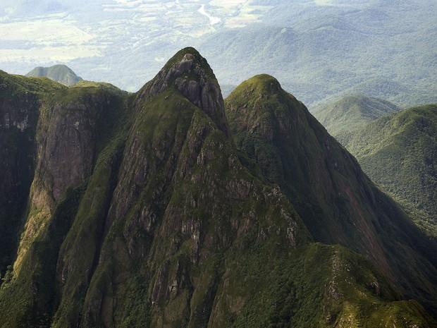 Pico Paraná é considerado o ponto mais alto do Sul do Brasil (Foto: Divulgação/ Secretaria de Meio Ambiente do Paraná)