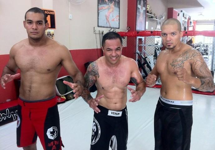Lucas, Navarro e Ricardo garante estar preparados para as competições (Foto: Ricardo Navarro / Cedida)