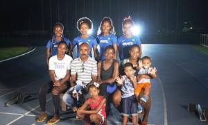 Família do Rio tem o atletismo como tradição e contabiliza vitórias