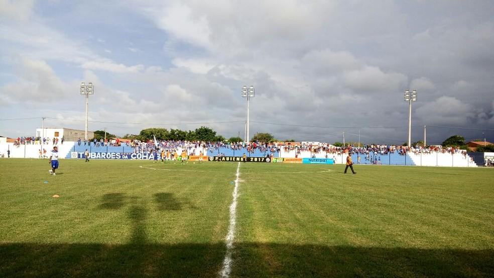 Casa do Parnahyba no Piauien se 2017, estádio Pedro Alelaf  não é aprovado pela CBF para estreia do clube na Série D (Foto: Flávio Meireles)