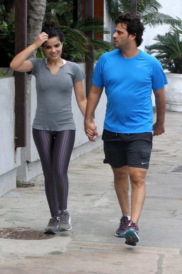 Vanessa Giácomo com o marido, Giuseppe Dioguardi (Foto: PhotoRioNews)