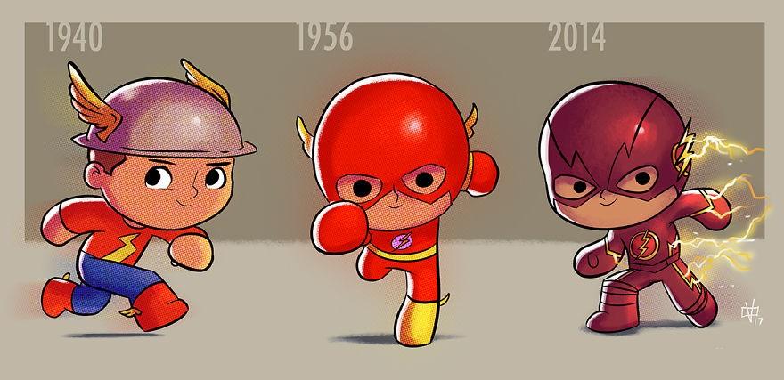 Flash (Foto: Reprodução/Jeff Victor)