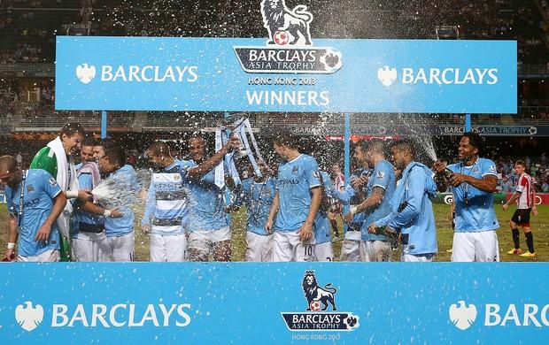 taça jogo Manchester City e Sunderland (Foto: Getty Images)