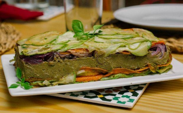 Bela Cozinha - Ep. 3 - Entradas - Terrine de lentilha com legumes (Foto: Crdito Jardim Mvel)
