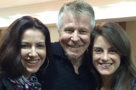 Miguel Falabella, Alessandra Verney e Alessandra Maestrini  (Foto: Divulgação)