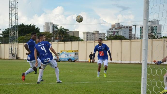 Partida entre Rondoniense e Cuiabá-MT termina em 0 a 0 (Foto: Lívia Costa)