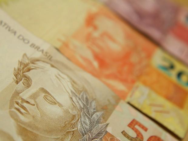 Cédulas de real. notas, dinheiro, reais, cotação, câmbio, valor, economia. -HN- (Foto: Marcos Santos/USP Imagens)