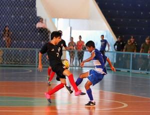 Seleção paraibana de futsal sub-15 (Foto: Divulgação / CBFS)