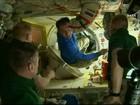 Astronautas voltam à Terra após um ano no espaço