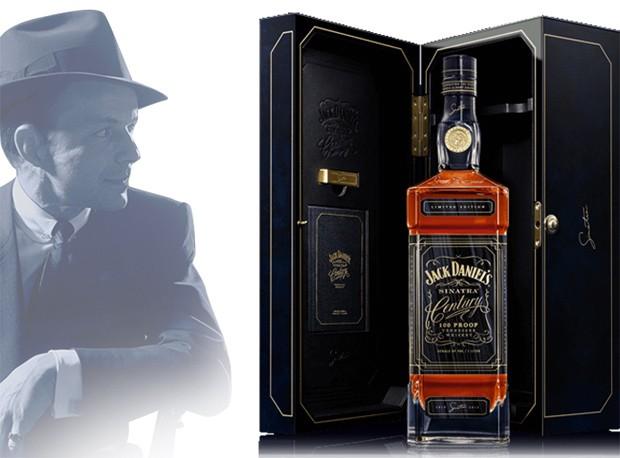 Case especial do Jack Daniel's Sinatra Century (Foto: Divulgação)