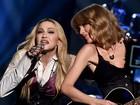 Madonna canta com Taylor Swift em prêmio de música: 'Surpresa!'