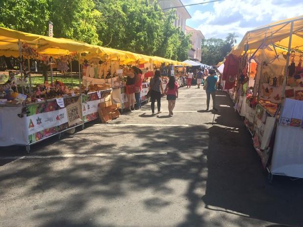 Poços de Caldas (MG) recebe até domingo uma feira de economia solidária. (Foto: Divulgação/Prefeitura Municipal de Poços de Caldas)