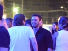 Solteiro, Sidney Sampaio curte noitada eletrônica em Salvador