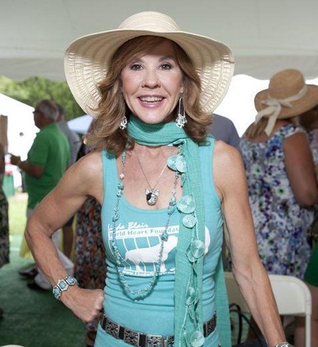 Linda Blair em recente aparição em evento de pólo este ano (Foto: Reprodução)