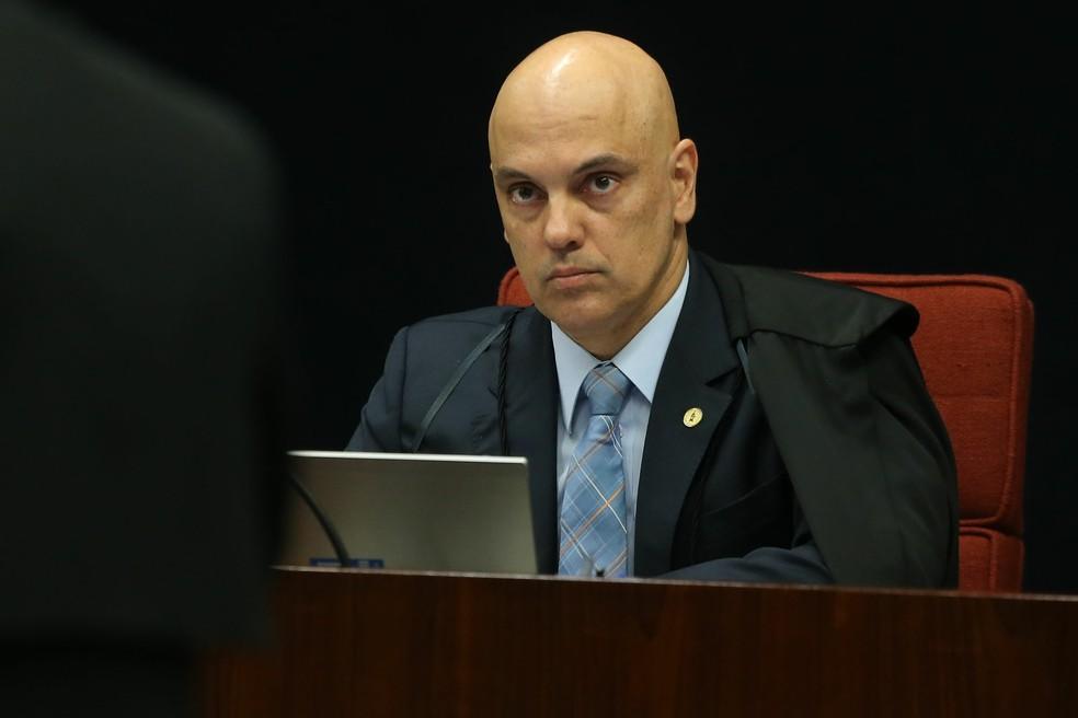 O ministro Alexandre de Moraes (Foto: André Dusek/Estadão Conteúdo/Arquivo)