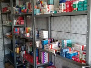 Farmácia comunitária de Votorantim oferece cerca de 3 mil tipos de medicamentos (Foto: Arquivo Pessoal/ Cláudio de Oliveira)
