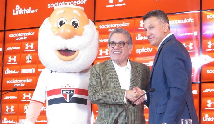 Aidar e Osorio (Foto: Marcelo Hazan)
