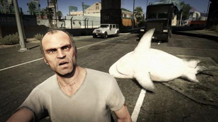 Grand Theft Auto 5 é apenas o mais recente foco das polêmicas envolvendo a Rockstar (Foto: Reprodução/Ph.Creative)