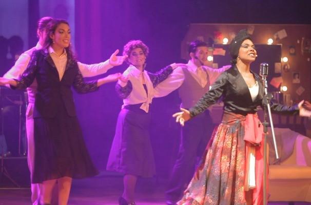 Cena de Lupi - O Musical (Foto: Reprodução/RBS TV)