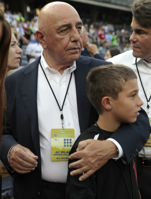 Adriano Galliani Milan (Foto: AP)