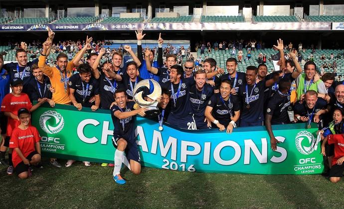 Auckland City conquista Champions da Oceania diante do Team Wellington (Foto: Facebook)