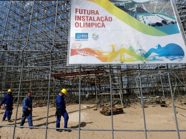 Governo diz que não estava conseguindo honrar compromissos com Jogos  (Foto: Reuters/Sergio Moraes)
