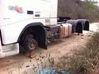Roubos de pneus de caminhão voltam a ser registrados no interior do estado