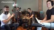 Família Lima toca músicas pedidas por Tadeu Schmidt e Ingrid Guimarães