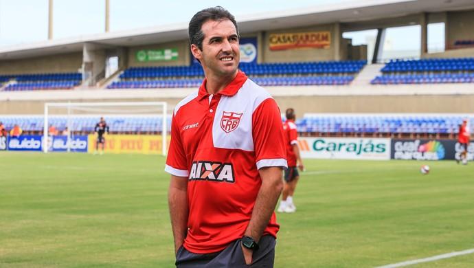 Léo Condé, técnico do CRB (Foto: Ailton Cruz/Gazeta de Alagoas)
