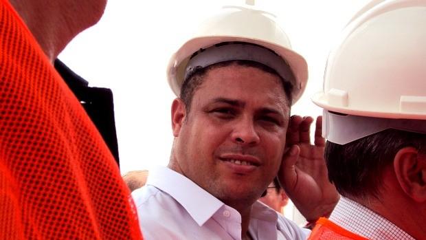 Ronaldo fenômeno (Foto: Adeilson Albuquerque/GLOBOESPORTE.COM)