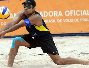 Bruno, vôlei de praia (Foto: Mauricio Kaye/CBV)